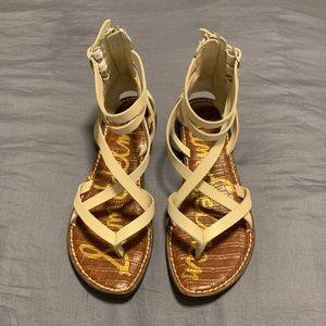 Sam Edelman Gallagher Sandals White Size 8